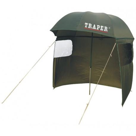 Зонт TRAPER со шторкой 2,5м 58015