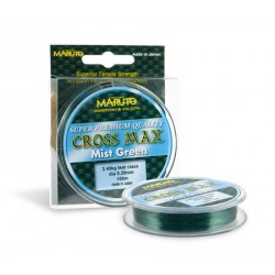 Леска MARUTO CROSS MAX  (green) 100 м