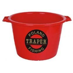 Ведро TRAPER для прикорма 40л (красное)