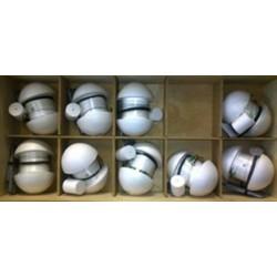 Набор колобашек оснащённых(10 штук) в ящике