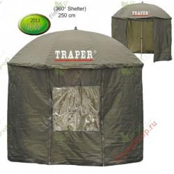 Зонт TRAPER 58021 со шторкой 360*