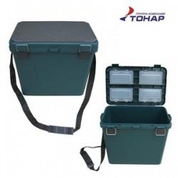 Ящик односекционный HELIOS  (Тонар) зелёный