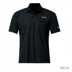 Футболка POLO SHIRT (short sleeve) SH-094N (черный)