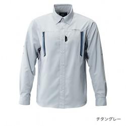 Рубашка SHIMANO AIRVENTI FISHING SHIRTS SH-099N (cерый)