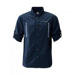 Рубашка SHIMANO AIRVENTI FISHING SHIRTS SH-099N (cиний)