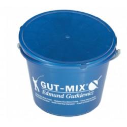 Ведро для прикорма GUT-MIX 18 л с крышкой