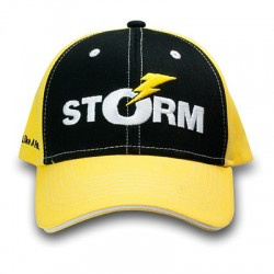 Кепка STORM (чёрно-жёлтая)