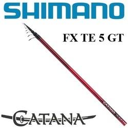 SHIMANO CATANA FX TE GT 5 (Тест 2,5-15 гр)