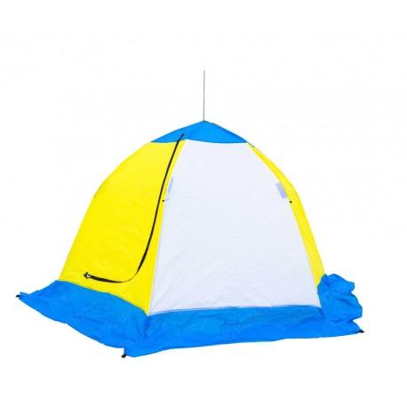 Палатка зимняя СТЭК-3 ELITE (трехслойная)
