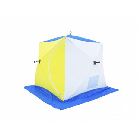 Палатка зимняя СТЭК КУБ-2 ( двухслойная)