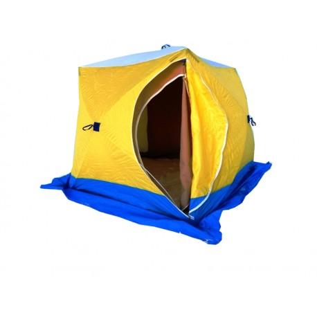 Палатка зимняя СТЭК КУБ-3 ( двухслойная)