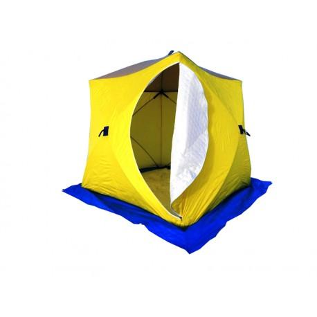 Палатка зимняя СТЭК КУБ-3 ( трехслойная)