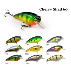CHERRY SHAD 60mm